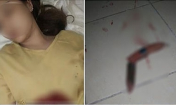 Sự thật vụ thiếu nữ 'đâm dao vào bụng tự tử' xôn xao dân cư mạng