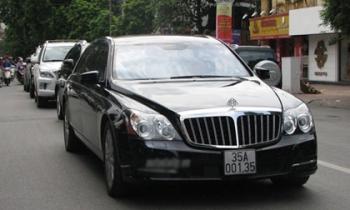 'Hoa mắt' với những xế khủng tại Ninh Bình