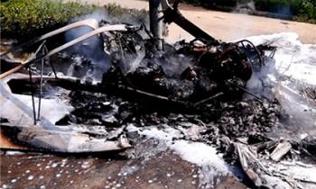 Máy bay rơi ở Trung Quốc, 2 phi công thiệt mạng