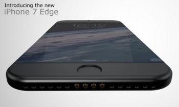 Lộ diện bản thiết kế 'siêu đẹp' của iPhone 7 Edge