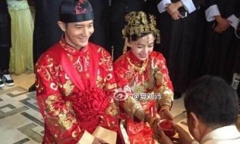 Huỳnh Hiểu Minh - Angela Baby hạnh phúc viên mãn trong lễ cưới truyền thống