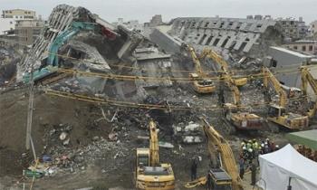 Số người thiệt mạng vì động đất ở Đài Loan tăng lên 87 người