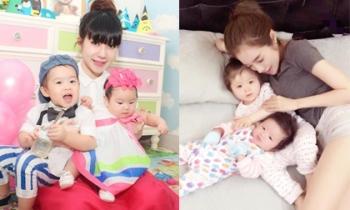 Chân dung hai bà mẹ tuyệt vời của showbiz Việt