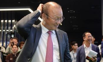 Thầy Park không vội gia hạn hợp đồng với VFF