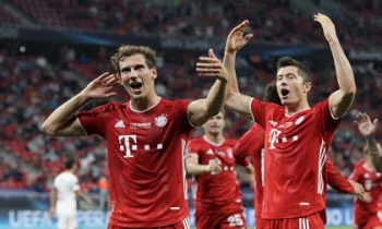 Bayern giành siêu cúp châu Âu