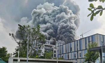 Vụ cháy lớn ở Huawei khiến 3 người chết