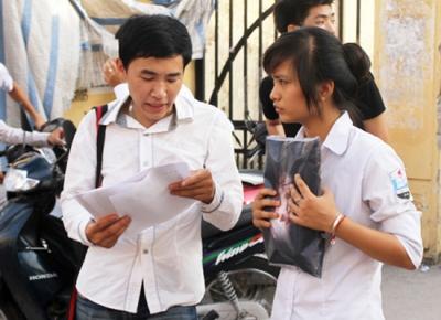 Đáp án chính thức các môn thi Cao đẳng 2012 của Bộ GD&ĐT