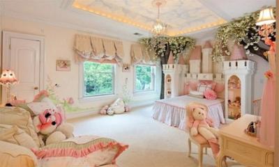 Phòng ngủ tiền tỷ đẹp đến ngất ngây của các 'cậu ấm cô chiêu'