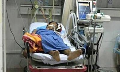 Tài xế taxi gây tai nạn trên cầu vượt Thái Hà được chuyển viện
