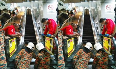 Bé trai bị mất chân do tai nạn thang cuốn vào ngày mùng 1 Tết