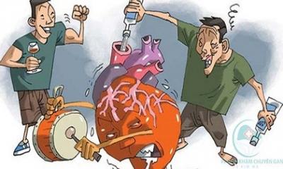 Những bệnh lý về gan nguy hiểm nhất được bắt nguồn từ thói quen bia rượu