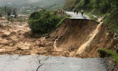 Lai Châu: Đang xác minh một gia đình nghi bị mưa lũ cuốn trôi