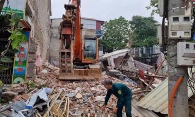 Vụ sập nhà 3 tầng ở Lào Cai: Chủ nhà nghe thấy tiếng rung, lắc nên bật dậy tháo chạy ra ngoài