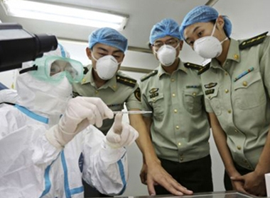 43 ca nghi nhiễm Ebola ở Trung Quốc
