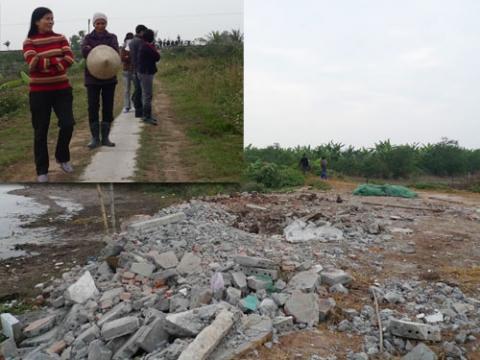 Vụ thu hồi đất ở Tiên Lãng- Hải Phòng: Việc cưỡng chế đã sai!