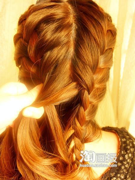 Hướng dẫn tự tạo kiểu tóc xinh cho ngày Valentine