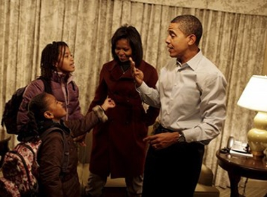Ngắm khoảnh khắc ấm áp bên gia đình của các lãnh đạo thế giới