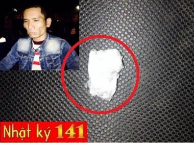 Giấu ma túy trên người bị 141 phát hiện vẫn quanh co chối tội