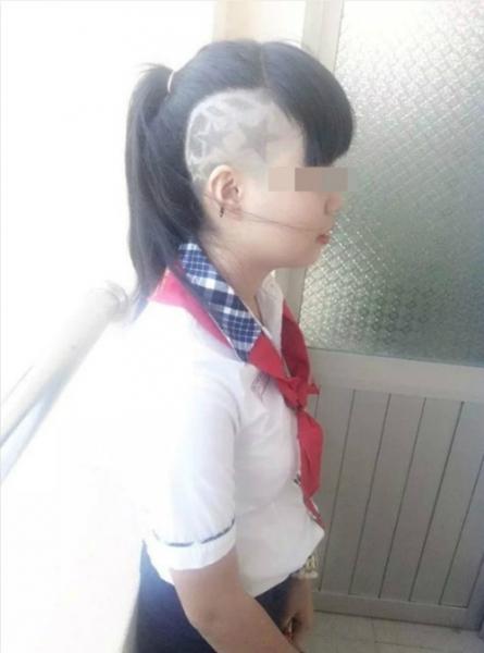 """Những kiểu tóc """"không giống ai"""" của giới trẻ Việt - 10"""