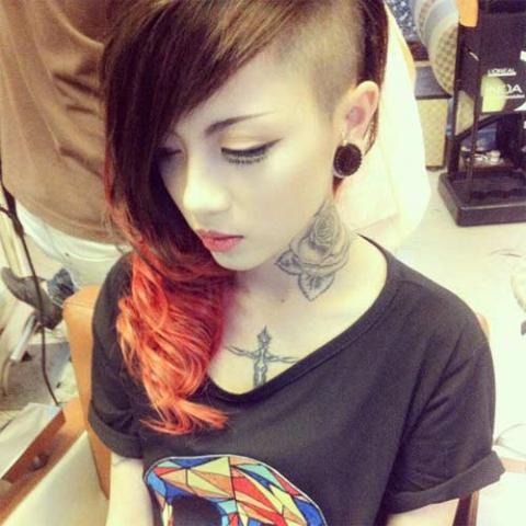 """Những kiểu tóc """"không giống ai"""" của giới trẻ Việt - 7"""