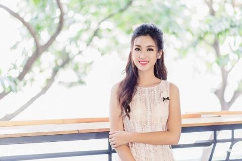 Ảnh mới Hoa hậu Đỗ Mỹ Linh 6