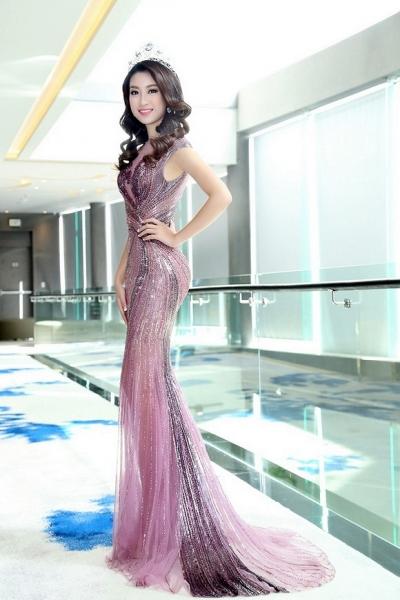 Hoa hậu Mỹ Linh đẹp không tỳ vết 8