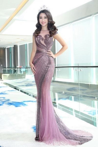 Hoa hậu Mỹ Linh đẹp không tỳ vết 7