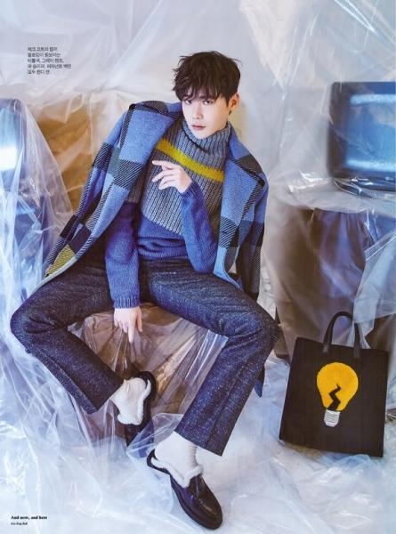 Lee Jong Suk khoe style thu sành điệu 5