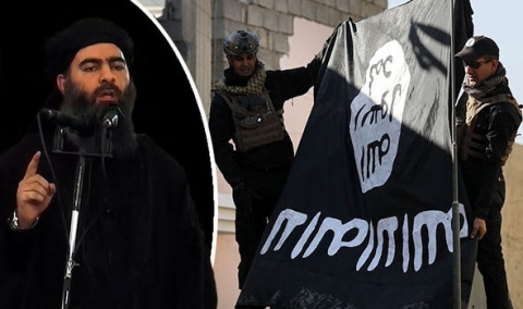 Tên Abu Bakr al-Baghdadi, thủ lĩnh của IS. (Ảnh: Getty)