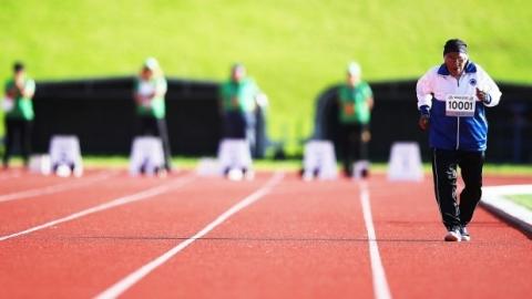 Cụ bà 101 tuổi đạt huy chương vàng chạy 100m - 1
