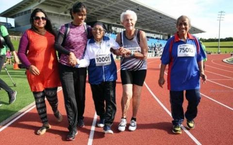 Cụ bà 101 tuổi đạt huy chương vàng chạy 100m - 3