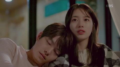Chuyện tình đẹp như mơ nhưng thấm đẫm nước mắt của Joon Young và No Eun trên phim.