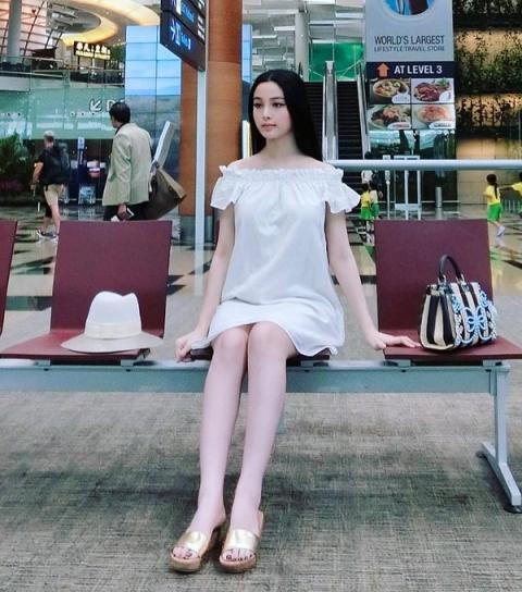 """2 cuu hot girl dang mang bau lan 2 van """"dep phat hon"""", hot nhat hien nay - 5"""