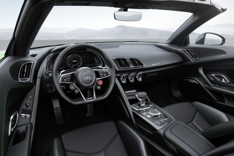 Audi R8 V10 Plus Spyder 2017 lộ diện với giá 5,3 tỷ đồng - 3