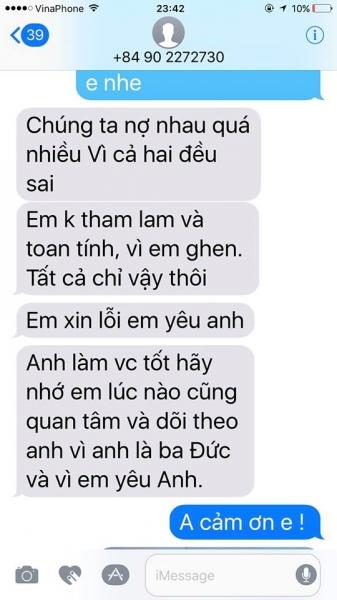 Lộ tin nhắn Phi Thanh Vân năn nỉ chồng quay lại sau khi ly hôn - Ảnh 4.
