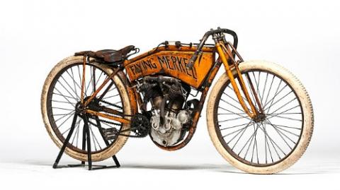 Top 10 môtô cổ đắt đỏ nhất hành tinh - 3