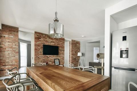 Thay đổi kết cấu của những bức tường, căn hộ này đem đến cho bạn vô vàn ý tưởng sáng tạo - Ảnh 4.