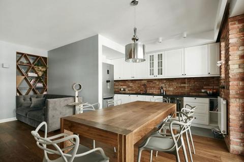Thay đổi kết cấu của những bức tường, căn hộ này đem đến cho bạn vô vàn ý tưởng sáng tạo - Ảnh 5.