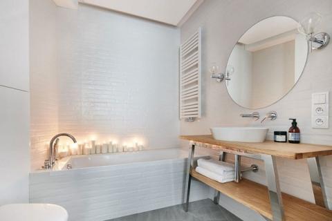 Thay đổi kết cấu của những bức tường, căn hộ này đem đến cho bạn vô vàn ý tưởng sáng tạo - Ảnh 9.