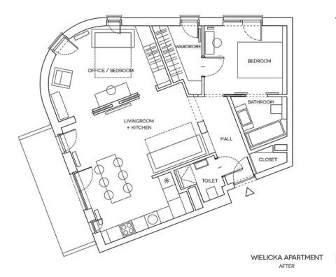 Thay đổi kết cấu của những bức tường, căn hộ này đem đến cho bạn vô vàn ý tưởng sáng tạo - Ảnh 14.