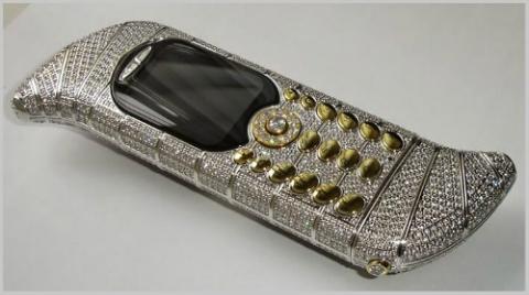 Top 10 smartphone đính kim cương, mạ vàng đắt đỏ nhất hành tinh - 4