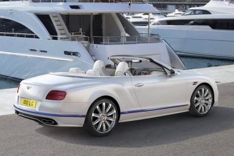 Bentley Continental GT mui trần đặc biệt phỏng theo du thuyền - 2