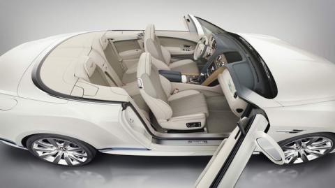 Bentley Continental GT mui trần đặc biệt phỏng theo du thuyền - 4