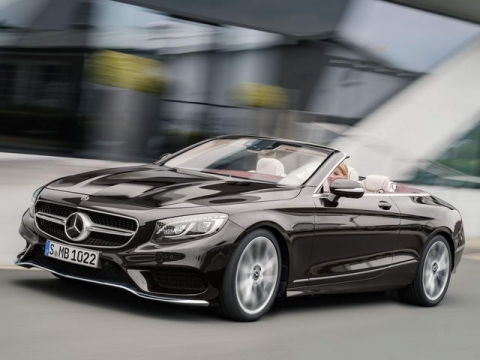 Mercedes-Benz S-Class Cabriolet 2018 ra mắt - 1