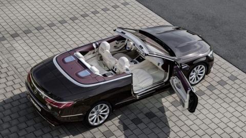 Mercedes-Benz S-Class Cabriolet 2018 ra mắt - 3