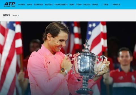 """Báo chí thế giới: """"Quái vật"""" Nadal, một năm kinh ngạc - 3"""