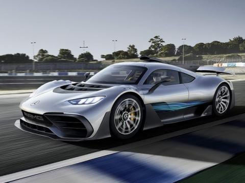 Mercedes-AMG Project One: Siêu phẩm tốc độ - 1