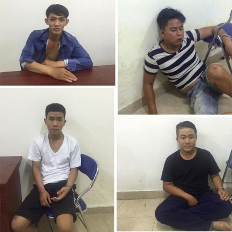 Băng nhóm cướp giật khét tiếng ở Sài Gòn sa lưới cảnh sát - 1