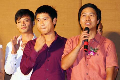 Quốc Tuấn lần đầu thử thách với vai trò là đạo diễn với Trái tim kiêu hãnh. Trong phim, anh được sự giúp sức của nhiều đồng nghiệp trong đó có nhạc sĩ Hồ Hoài Anh, phụ trách phần âm nhạc.