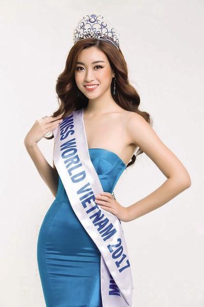 Hoa hậu Đỗ Mỹ Linh. Ảnh: TL